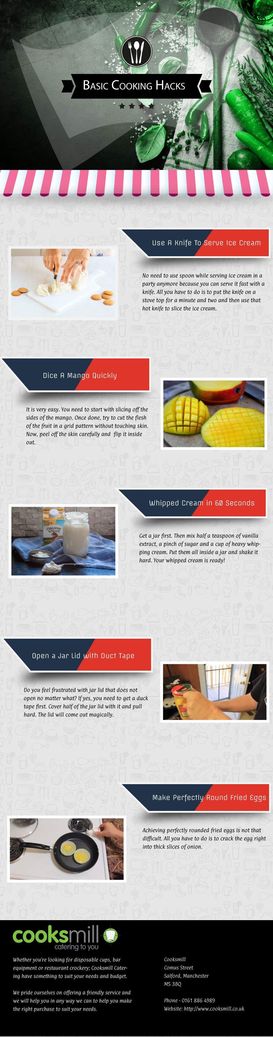 Top 5 Cooking Hacks