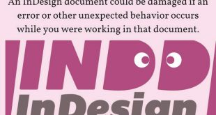 InDesign Repair Tool