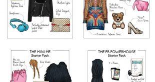 Fashion Week Starter Packs