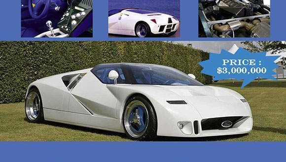 Luxury Vehicle: Top 5 Most Expensive Ford Cars Ever